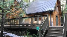 08Mbr - Log Home - Bbq - Wifi , Glacier