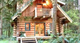 10Sl - Real Log Cabin - Wifi -, Glacier