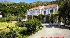 Villa Lina, Brsečine