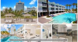 3 Room Art Deco Oceanfront Sui, Miami Beach